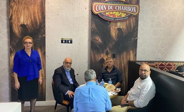 عشاء خيري دعما للمرشحة لرئاسة بلدية بروسارد هنادي سعد