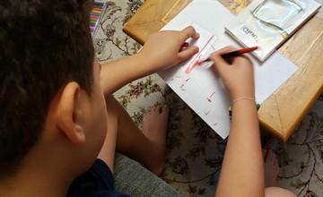 أطفال من الجالية يقدمون المساعدة للبنان